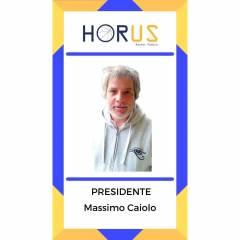 La presentazione del secondo dei presidenti: Massimo Caiolo
