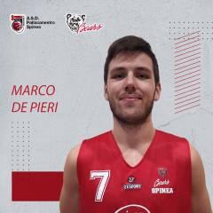 Marco de Pieri sarà un giocatore della Pallacanestro Bears Spinea per la terza stagione consecutiva