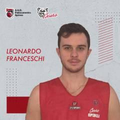 Leonardo Franceschi ancora in maglia Bears