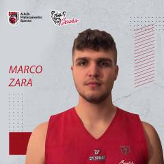 Marco Zara sarà un giocatore della Pallacanestro Bears Spinea