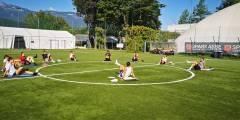 ACciaierie Valbruna Bolzano: gruppo al lavoro con entusiasmo