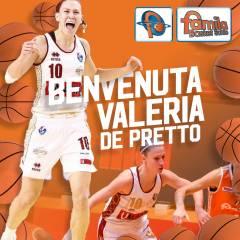 La scledense Valeria De Pretto è una nuova giocatrice del Famila Basket Schio