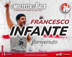 Colpaccio Pavimaro Molfetta: ufficiale l'arrivo di Francesco Infante