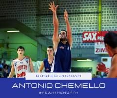Playbasket firma Antonio Chemello