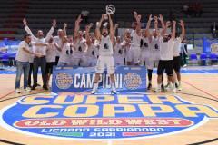 I Raggisolaris vincono la Supercoppa 2021/22. Superata UEB Cividale in finale