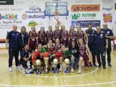 L'Umana Reyer vince la Coppa Italia Under 20 femminile 2018-19 superando Battipaglia