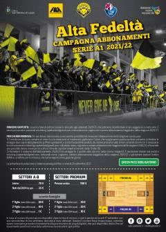 Sostieni le Lupe: l'abbonamento 20/21 sarà valido anche per la stagione di Serie A1 21/22