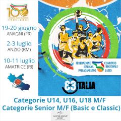 Nel Lazio riparte lo spettacolo del 3x3. In programma tre tappe ad Anagni, Anzio e Amatrice