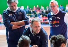 Coach Francesco Goccia presenta la stagione del Gruppo Stanchi Athena