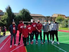 4 Torri all'inaugurazione del campo polisportivo dell'Istituto Einaudi di Ferrara