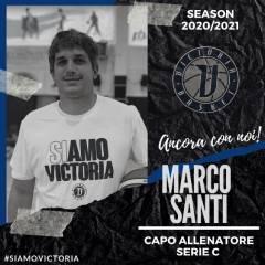 Stagione 2020/21: Coach Santi confermato in panchina