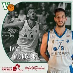 Ufficiale: l'Antenore Energia Virtus ingaggia Ivan Morgillo