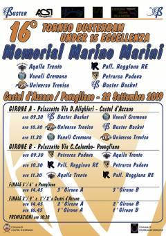 Logo Memorial Marino Marini 2019