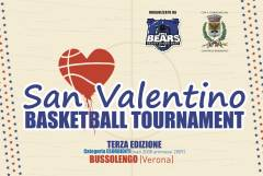 Logo San Valentino Basketball Tournament 2020