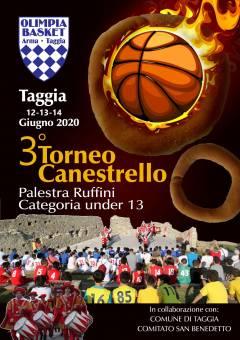 Logo Torneo Canestrello 2019