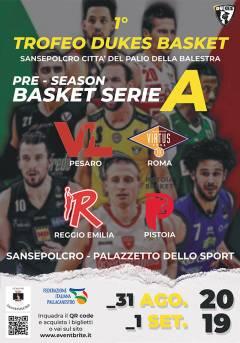 Logo I° Trofeo Dukes Basket Pre Season Serie A